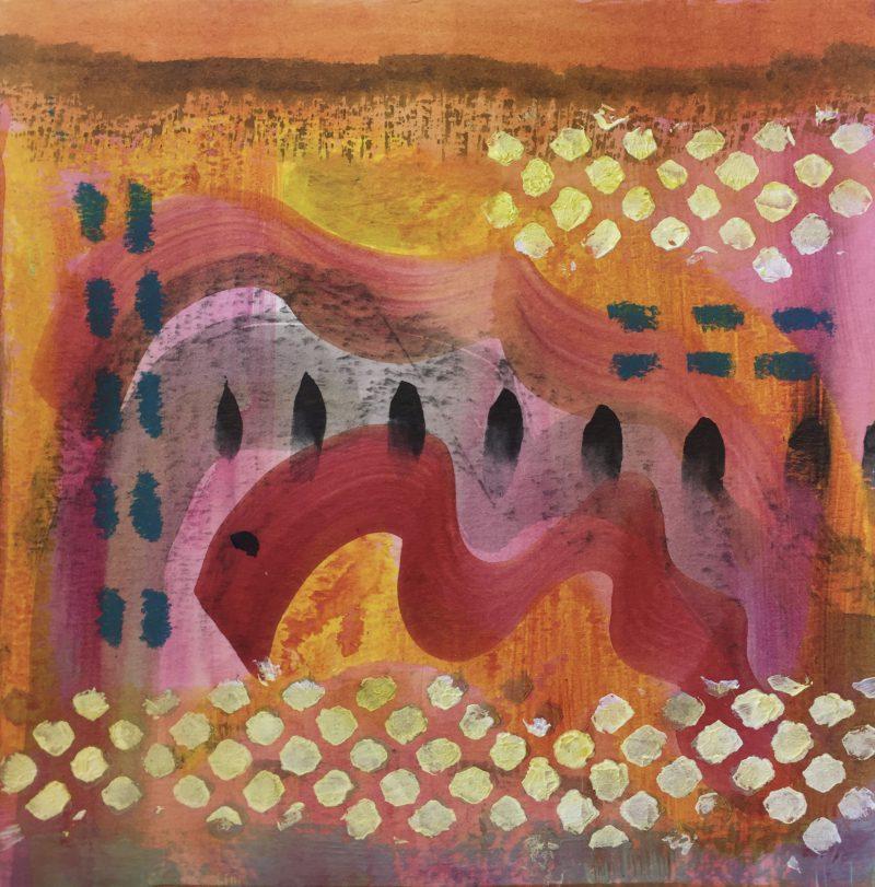 Pink & Orange 04